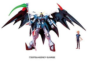 Gundam High Grade Gundam Wing Endless Waltz 1/144 Scale Model Kit: EW-05 Gundam D-Hell Custom