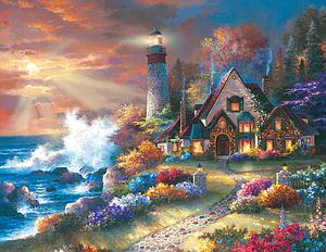 SUNSOUT Puzzle 1000 Piece Guardian of Light (18059)
