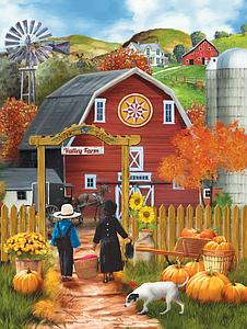 SUNSOUT Puzzle 500 Piece Valley Farm (28755)