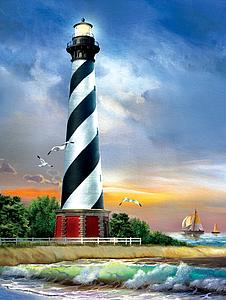 SUNSOUT Puzzle 500 Piece Cape Hatteras Lighthouse (28835)