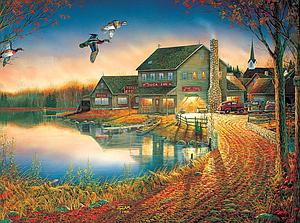 SUNSOUT Puzzle 1000 Piece Duck Inn (29037)