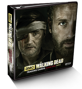 The Walking Dead Television Series 3 Part 2 Trading Cards: Binder
