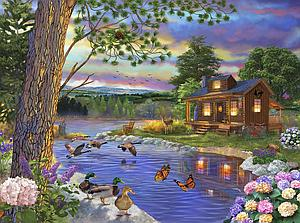SUNSOUT Puzzle 1000 Piece Peace River (31405)