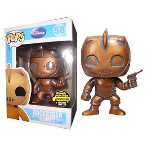Pop! Disney The Rocketeer Vinyl Figure Rocketeer (Patina) #58 Gemini Collectibles Exclusive (only 480 Made)