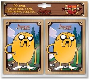 Cryptozoic Card Sleeves Standard Size 66 x 91mm: Adventure Time Jake (80 Pack)