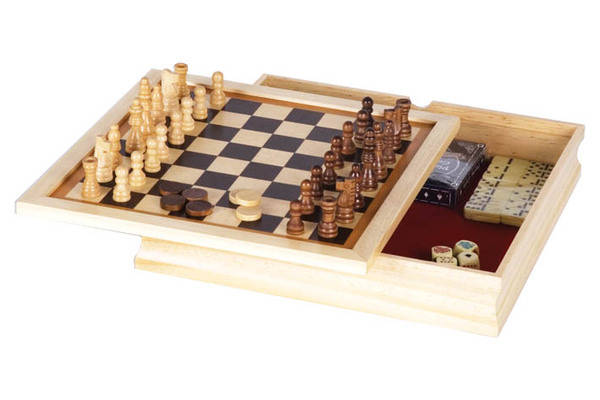 "6-in-1 Combination Game Set (11"")"