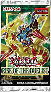 YuGiOh Trading Card Game: Rise of the Duelist Booster Pack