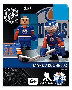 NHL Hockey Minifigures: Mark Arcobello (Edmonton Oilers)