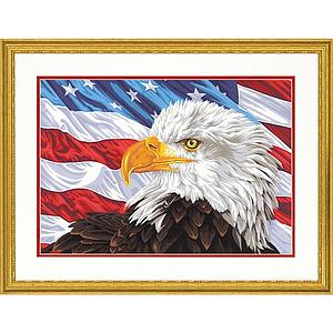 DIMENSIONS Paintworks Paint by Number Bald Eagle (73-91728)