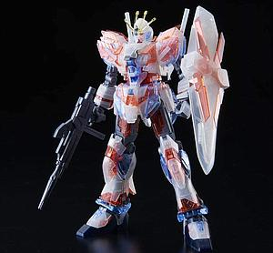 "Gundam High Grade Universal Century 1/144 Scale Model Kit: ""Limited Item"" RX-9/C Narrative Gundam C-Packs [Clear Color]"