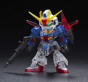 "Gundam SD Gundam Cross Silhouette Model Kit: ""Limited Item"" Zeta Gundam (Cross Silhouette Frame Ver.) [Clear Color]"
