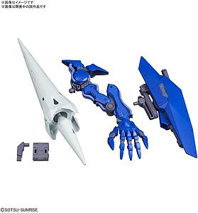 Gundam High Grade Build Divers: R 1/144 Scale Model Kit: #015 Seltsam Arms