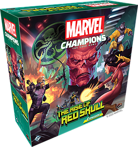 Marvel Champions: The Card Game - The Rise of Red Skull Expansion