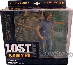 "McFarlane Lost Series 2 6"" Action Figure Sawyer"