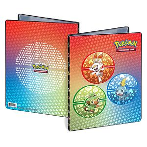 Pokemon 9-Pocket Portfolio: Sword & Shield Galar Starters