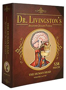 Dr. Livingston's Anatomy 538 Piece Puzzle: The Human Head