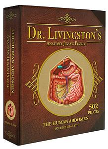 Dr. Livingston's Anatomy 577 Piece Puzzle: The Human Abdomen