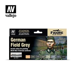 8 Model Colors Set - German Field Grey (70181)