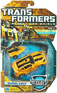 Transformers Reveal The Shield Series Deluxe Class Bumblebee