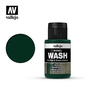 Model Wash for Olive & Green Vehicles - Olive Green (76.519)