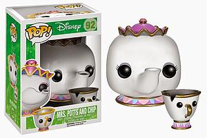 Pop! Disney Beauty & the Beast Vinyl Figure Mrs. Potts & Chip #92 (Vaulted)