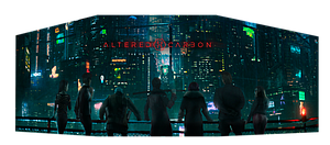 Altered Carbon Game GM Screen