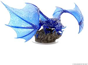 Dungeons & Dragons Icons of the Realms Premium Painted Figure: Sapphire Dragon