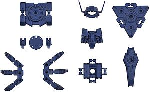 30MM 1/144 Scale Model Kit: OP-23 Option Armor for Commander (Rabiot Exclusive/Navy Blue)