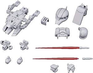 Gundam SD Gundam Cross Silhouette Model Kit: OP-09 Silhouette Booster 2 (White)