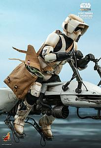 Scout Trooper and Speeder Bike (TMS017)