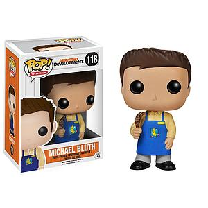 Pop! Television Arrested Development Vinyl Figure Michael Bluth (Banana Stand) #118 (Retired)