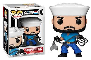 Pop! Retro Toys G.I. Joe Vinyl Figure Shipwreck #10