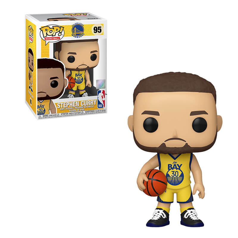 Pop! Basketball NBA Vinyl Figure Steph Curry #95 (Golden State Warriors)
