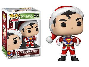 Pop! Heroes DC Holiday 2020 Vinyl Figure Superman with Sweater