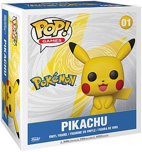 "Pop! Games Pokemon Vinyl Figure 18"" Pikachu"