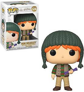 Pop! Harry Potter Holiday Vinyl Figure Ron Weasley #124