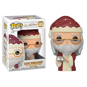 Pop! Harry Potter Holiday Vinyl Figure Albus Dumbledore #125