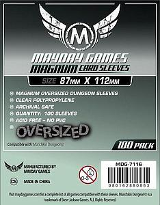 Munchkin Dungeon Sleeves - Magnum Oversized (87mm x 112mm)
