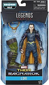 "Marvel Legends Thor Ragnarok Series BAF Hulk 6"" Action Figure Loki"
