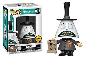 Pop! Disney The Nightmare Before Christmas Vinyl Figure Mayor #807 Chase