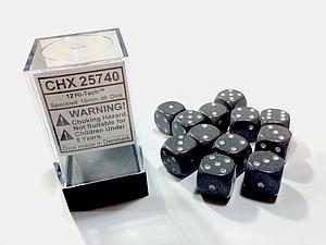 Dice 12D6 Set - Speckled Hi-Tech