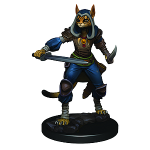 Dungeons & Dragons Icons of the Realms Premium Painted Figure: Tabaxi Rogue (Female)