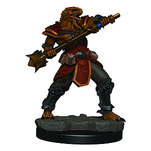 Dungeons & Dragons Icons of the Realms Premium Painted Figure: Dragonborn Fighter (Male)