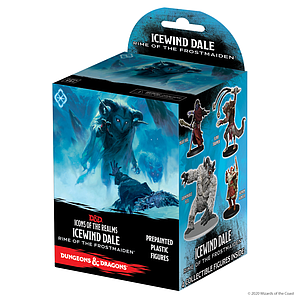 Dungeons & Dragons Icons of the Realms: Icewind Dale Rime of the Frostmaiden Booster Pack