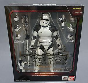 "BANDAI S.H. Figuarts Star Wars The Last Jedi 6"" Action Figure First Order Executioner"