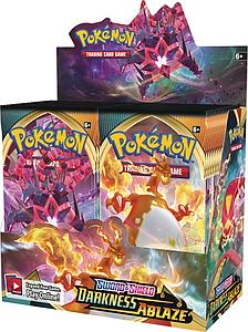 Pokemon Trading Card Game: Sword & Shield - Darkness Ablaze Booster Box