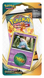 Pokemon Trading Card Game: Sword & Shield Darkness Ablaze Checklane Blister - A