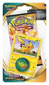 Pokemon Trading Card Game: Pokemon Sword and Shield Darkness Ablaze Checklane Blister - B