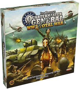 Quartermaster General WW2 (Second Edition): Total War