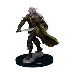 Pathfinder Battles Painted Premium Painted Figure: Elf Fighter